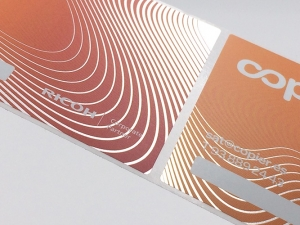 PP plata / cmyk+w / vernis UV mat
